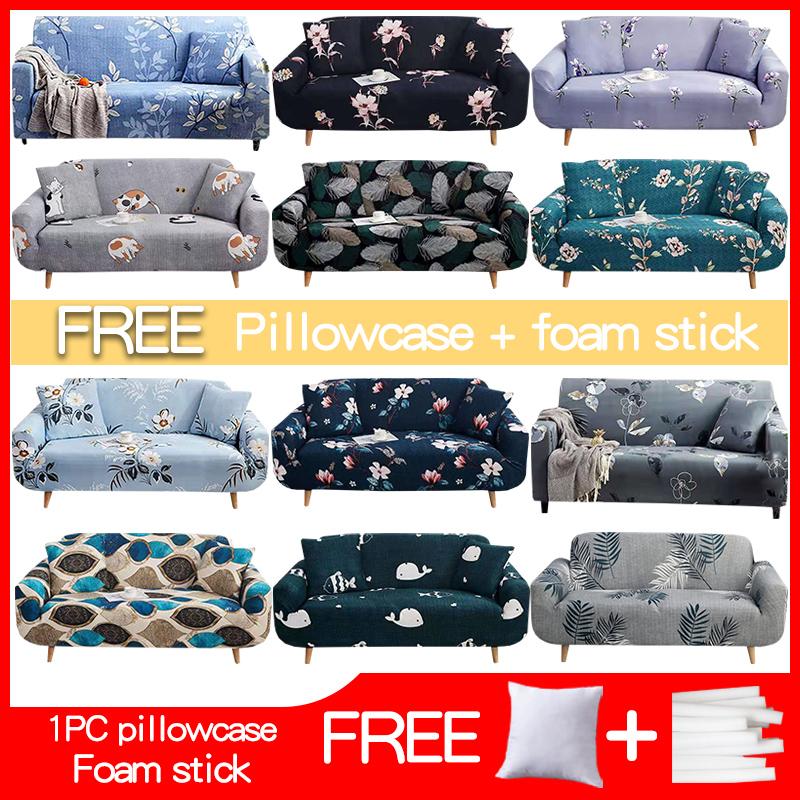 3. Vỏ bọc ghế Sofa hình chữ L 1/2/3/4 chỗ ngồi có khả năng đàn hồi và co giãn tốt