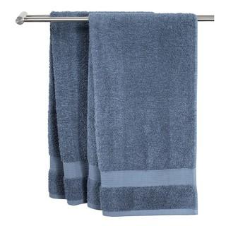 Khăn tắm JYSK Karlstad 100% cotton màu xanh dương đậm nhiều kích thước thumbnail
