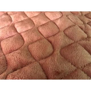 Thảm nỉ nhung trải giường, trải sàn cực ấm 1 màu ( đủ size màu) – MS38