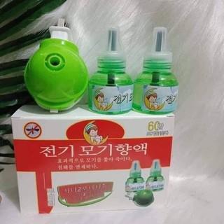 Máy xông tinh dầu đuổi muỗi, côn trùng Hàn Quốc