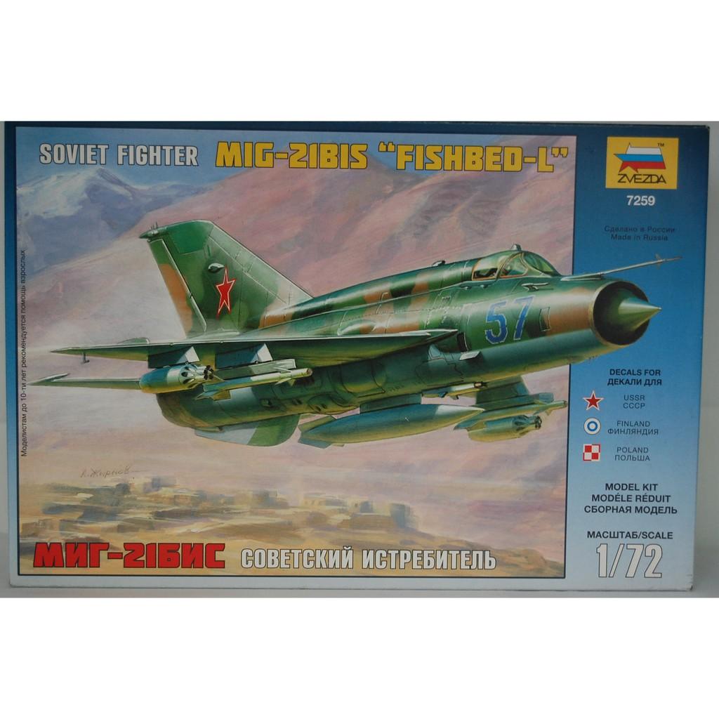Mô hình máy bay tiêm kích MIG-21 BIS