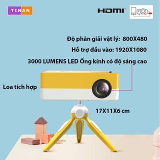 [Full HD 1080P, 800X480] Máy chiếu LED J15C -Kết nối không dây với điện thoại - MTB iOS và Android thumbnail