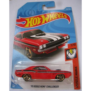 Xe Hot Wheels '70 Dodge Hemi Challenger FJX79