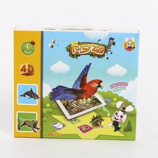 Neobear Pocket Zoo – Thẻ 4D vườn thú như thật (Fancy zoo)