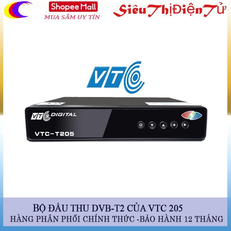 [Xem Được Worl Cup]Đầu thu kỹ thuật số DVB- T2 VTC 205 chính hãng