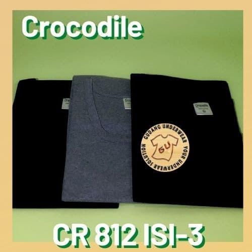 Áo thun nam in hình cá sấu 404Mkk Cr 812 - S Fr0410F