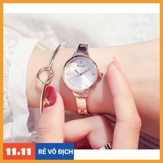 [Hàng chính hãng] Đồng hồ nữ Kimio 6280 hàng chính hãng dây kim loại dạng lắc siêu Xinh thumbnail