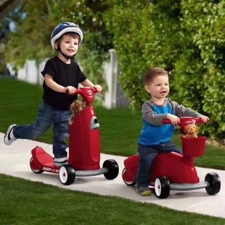 ( Hỗ trợ phí ship ) Xe tròi chân xe scooter đa năng 2 trong 1 cho bé từ 0 đến 6 tuổi