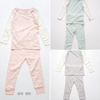 Bộ cotton mỏng xuất Hàn LILLE HAVEN