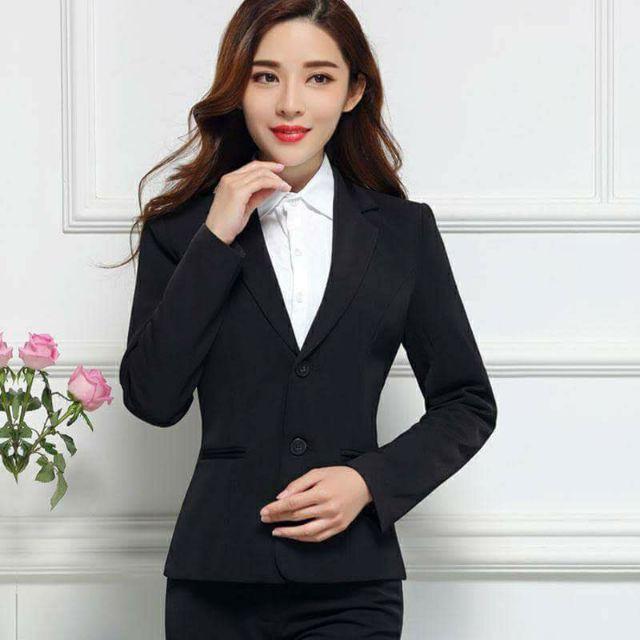 Áo vest nữ công sở tay dài cao cấp Linh Chi AVLC16 ,form chuẩn, đẹp, mặc cực tôn dáng, vải tuyết mưa loại 1,được đổi trả