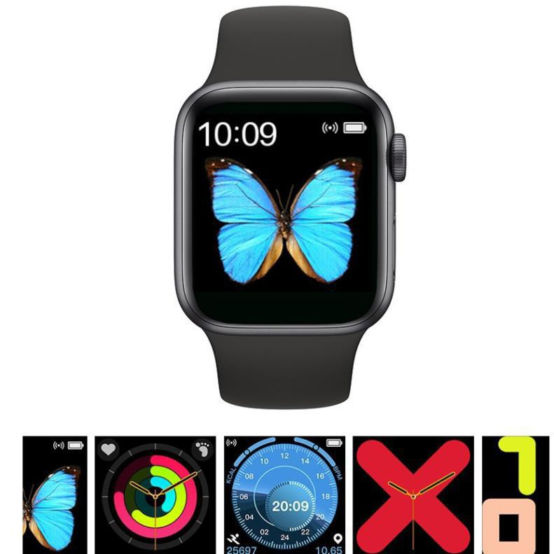 Smart Watch T500 Seri5 Thay Dây kết nối bluetooth 44mm Đo nhịp tim Chống nước 🎯FREESHIP🎯 [vthm9]