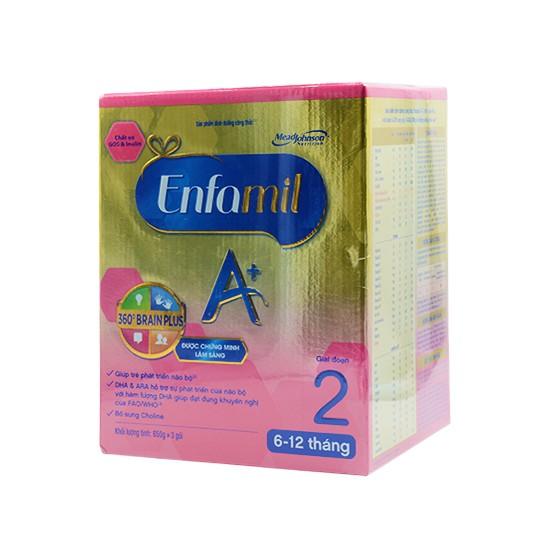 Sữa bột Enfamil A+2 360° Brain Plus 3X650g - 2531085 , 58590032 , 322_58590032 , 1050000 , Sua-bot-Enfamil-A2-360-Brain-Plus-3X650g-322_58590032 , shopee.vn , Sữa bột Enfamil A+2 360° Brain Plus 3X650g
