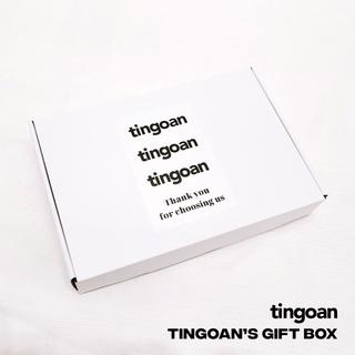 Vỏ hộp đóng gói chất liệu bìa giấy xếp trắng tingoan thumbnail
