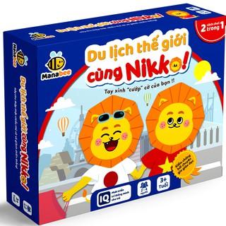 Đồ chơi trí tuệ Manabee - Du lịch thế giới cùng Nikko - Giúp bé khám phá thế giới và chinh phục môn toán - Lứa tuổi 3+ thumbnail