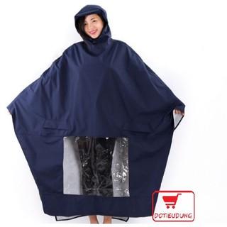 Áo mưa cánh dơi vải dù siêu dai loại trơn (chọn màu)