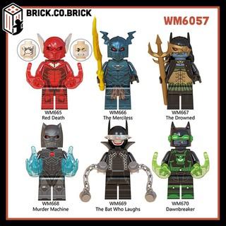 [Mã TOY5 giảm 10% đơn 50K] WM6057 (CÓ SẴN) – Đồ chơi lắp ráp minifigure và lego nhân vật người dơi Dark Knight Batman.