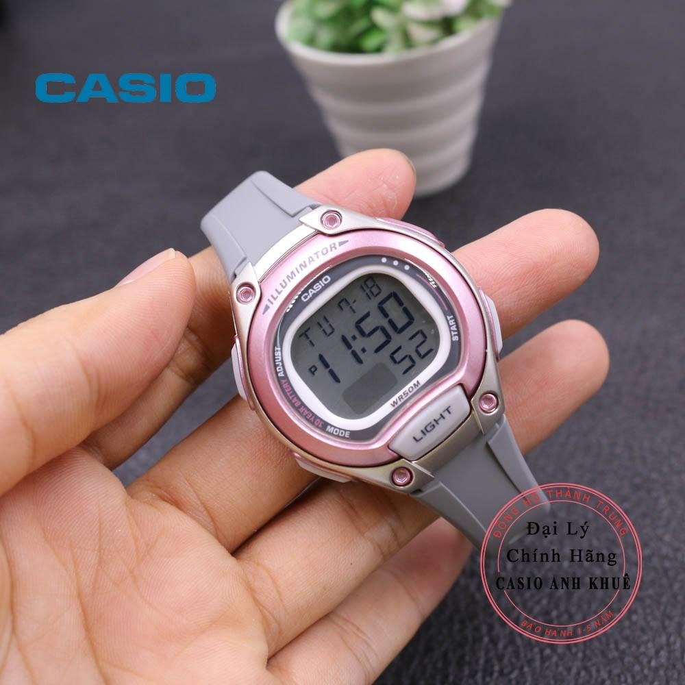 Đồng Hồ Nữ Casio LW-203-8AVDF Dây Nhựa Pin 10 Năm