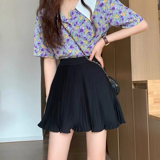 2ENDSHOP Chân váy Chiffon dập ly siêu xinh thumbnail
