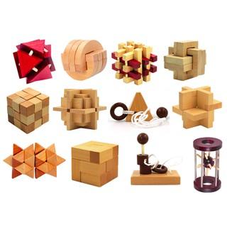 Giải đố gỗ Wood puzzle – Đồ chơi IQ