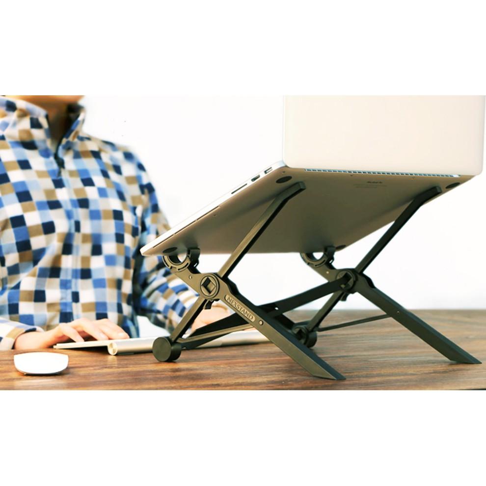 Giá đỡ laptop lên cao xuống thấp chống mỏi nextstand - kệ kê laptop tản nhiệt chỉnh độ cao