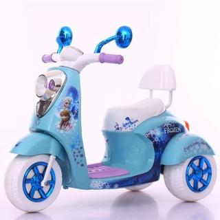 Xe máy điện trẻ em xanh, hồng BBT Global BBT-600