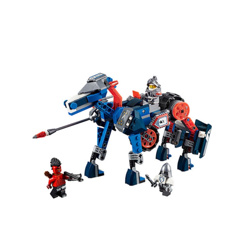 Bole 10485 compatible with LEGO 70312 Knight of the Future Knights Lance's mecha