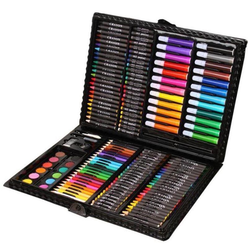 Hộp bút chì màu 150 chi tiết thỏa mãn đam mê họa sĩ cho bé