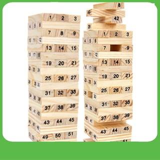 Bộ đồ chơi rút gỗ 48 thanh số – NAM TỪ LIÊM