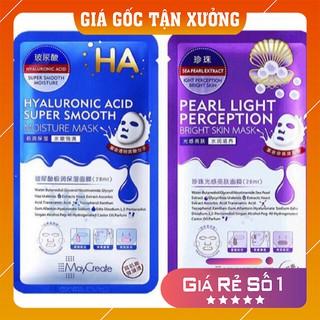 Mặt nạ dưỡng da 💕FREE SHIP💕 Mặt nạ HA Images XANH TÍM dưỡng da trắng sáng, giảm mụn, thải độc, cấp nước mềm mịn