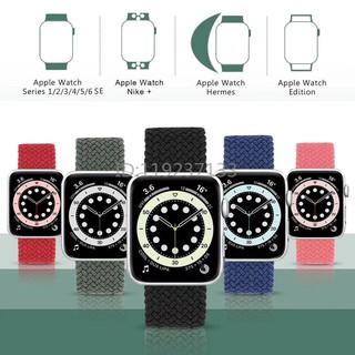 Dây đeo nylon co giãn cho Apple Watch iWatch Series SE / 6/5/4/3/2/1