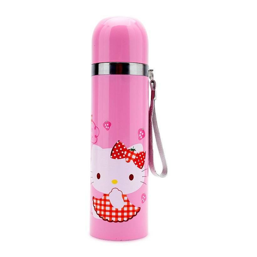 Bình giữ nhiệt Hello Kitty Mug 500ml (Hồng)