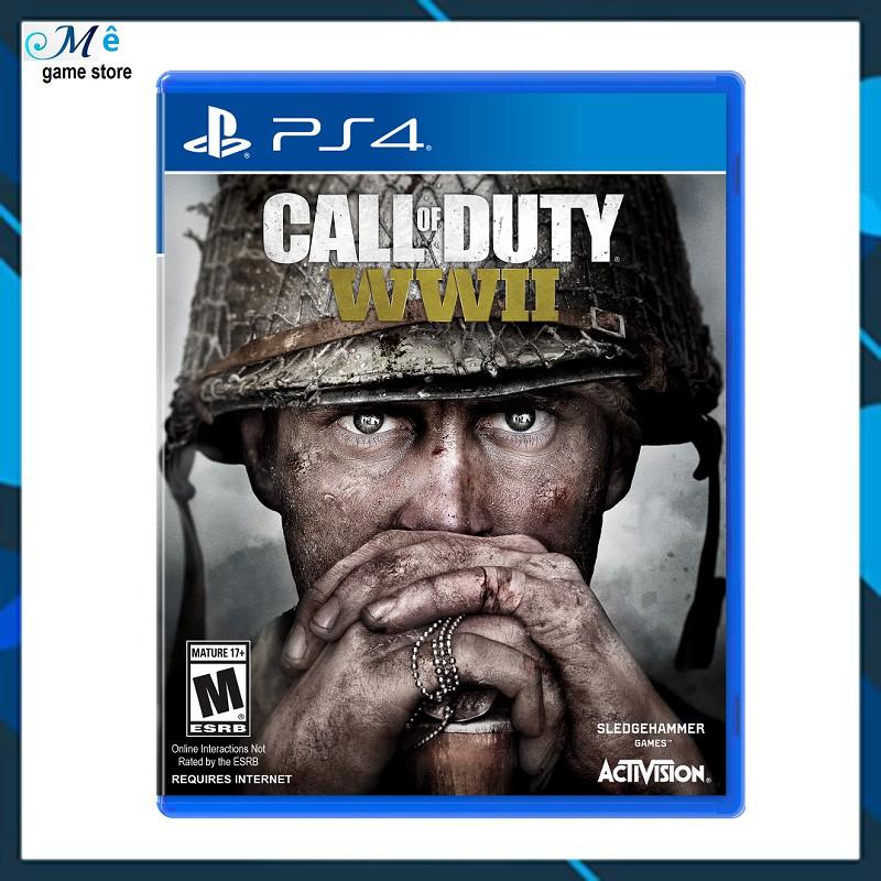[Mã 267ELSALE hoàn 7% đơn 300K] PS4 Call of Duty WWII