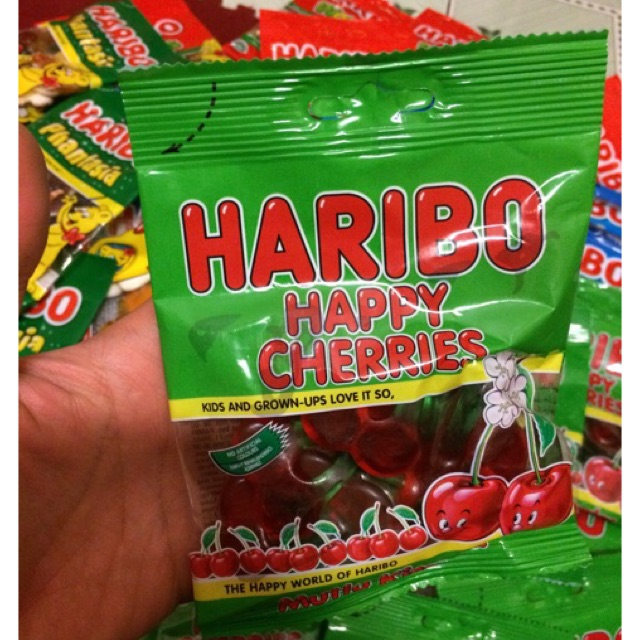 |Kẹo Dẻo Thái| Kẹo Haribo Happy Cherries 80g(Recipe from Germany) - 3139576 , 797827587 , 322_797827587 , 27000 , Keo-Deo-Thai-Keo-Haribo-Happy-Cherries-80gRecipe-from-Germany-322_797827587 , shopee.vn , |Kẹo Dẻo Thái| Kẹo Haribo Happy Cherries 80g(Recipe from Germany)