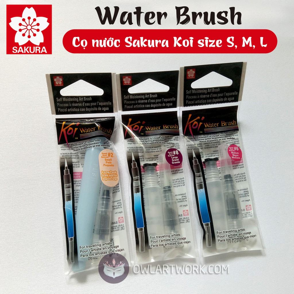 Cọ nước SAKURA - SAKURA KOI WaterBrush size S-M-L