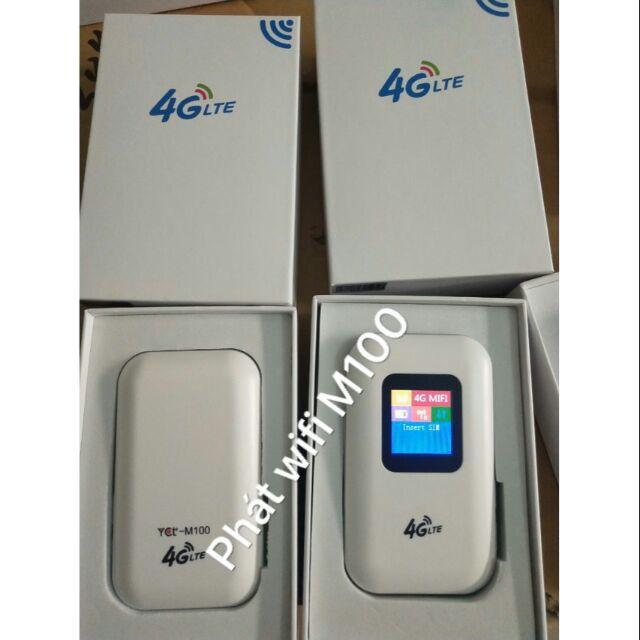 Bảng giá [Lấy mã giảm thêm 10%] Phát Wifi 4G Lte M100 Yct Kiêm Sạc Dự Phòng Phong Vũ