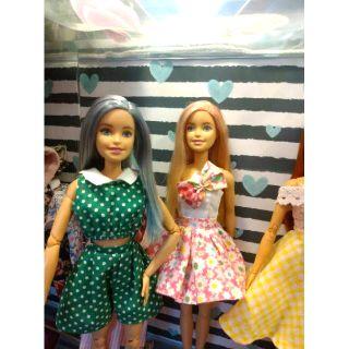 Quần áo Barbie, Xinyi,Blythe, Monster High tùm lum size