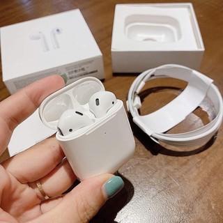 [Mã ELFLASH5 giảm 20K đơn 50K] Tai Nghe Bluetooth Airpod 2️⃣ định vị đổi tên âm thanh chuẩn 1:1