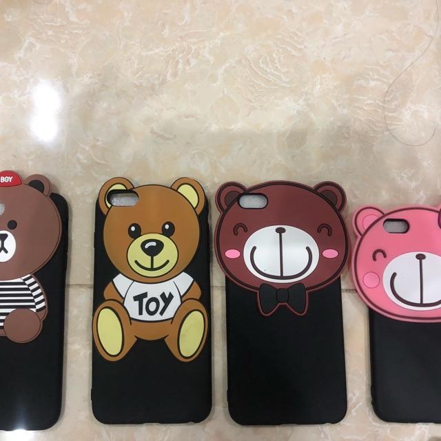 Ốp lưng hình gấu Samsung s8,s8plus,Note4,5,A9