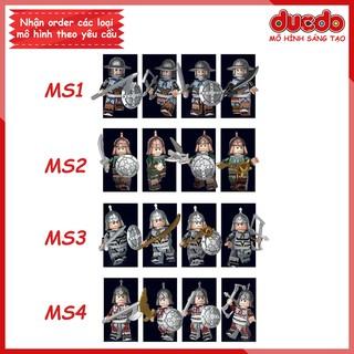 Decool 300A Minifigures lính TAM QUỐC vũ khí ngẫu nhiên tuyệt đẹp - Đồ chơi Lắp ghép Xếp hình Mô hình Mini thumbnail