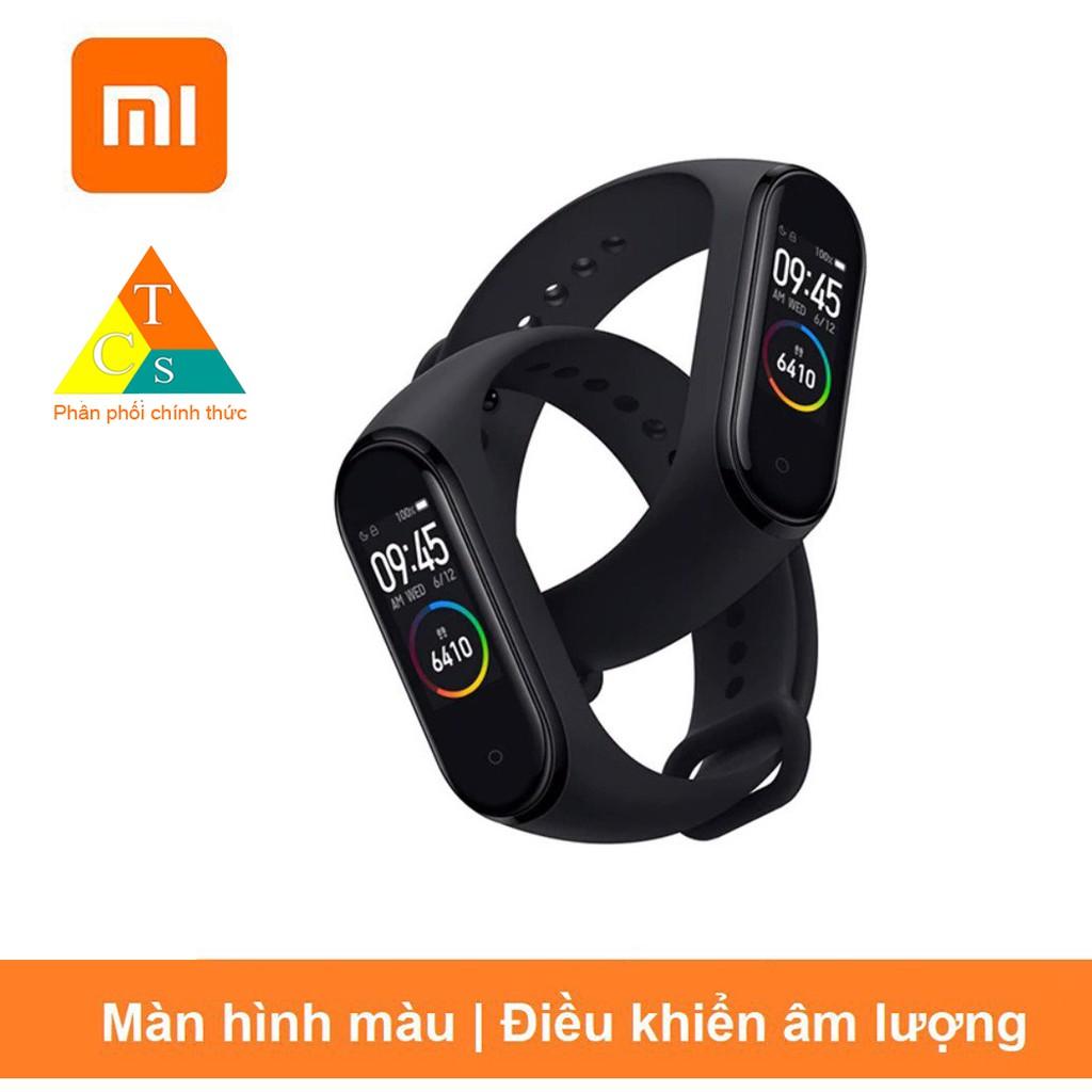 Vòng tay thông minh Miband 4 Xiaomi  | BH 3 tháng (Bản Tiếng Việt)
