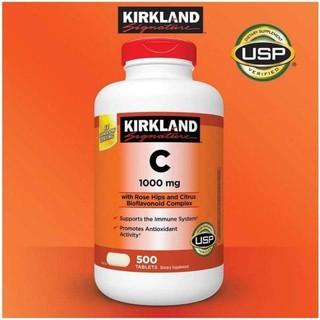 💦Viên Uống Bổ Sung Vitamin C Kirkland Signature 1000mg