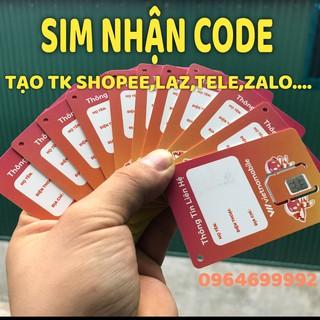 Sim Vietnammobile, Nhận Code Otp Nghe Gọi Vào Mạng,Tạo Tài Khoản Zalo,Shope,Laz,Teleg…Hạn Dài