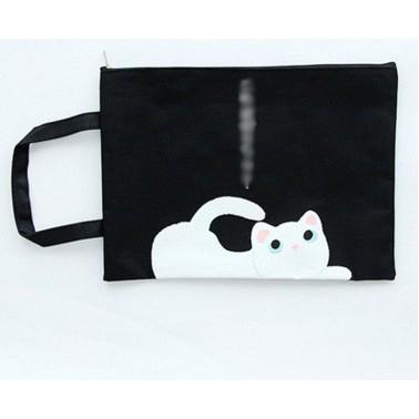 Túi xách mèo TA42 cute dễ thương a4 Túi đi học