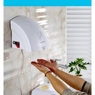 Máy sấy tay nhà vệ sinh khách sạn- máy sấy khô tay cảm biến hồng ngoại thumbnail