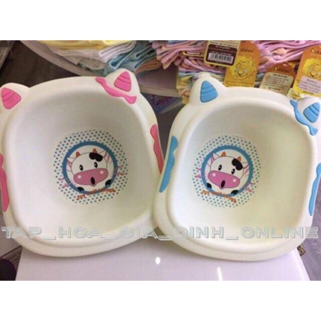 Chậu rửa mặt hình bò sữa cho bé - 3000719 , 1332584855 , 322_1332584855 , 60000 , Chau-rua-mat-hinh-bo-sua-cho-be-322_1332584855 , shopee.vn , Chậu rửa mặt hình bò sữa cho bé