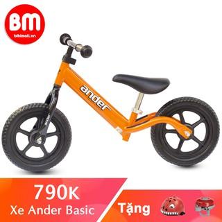 Xe thăng bằng cho bé 💖 FREE SHIP💖 Giảm 30K khi nhập mã [NEWS30K] 💖 Xe thăng bằng Ander Basic màu cam cho bé từ 2 tuổi