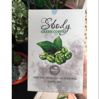 SBODY GREEN COFFEE CHÍNH HÃNG thumbnail