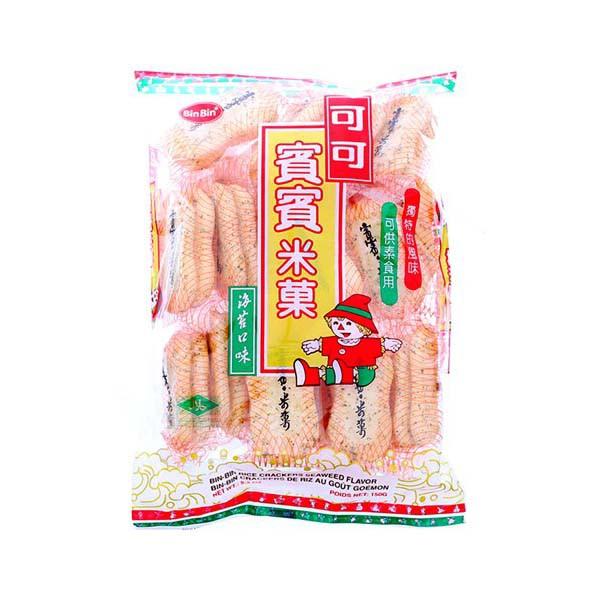 Bánh gạo Bin Bin vị rong biển 150g - 3582674 , 1060441749 , 322_1060441749 , 36000 , Banh-gao-Bin-Bin-vi-rong-bien-150g-322_1060441749 , shopee.vn , Bánh gạo Bin Bin vị rong biển 150g