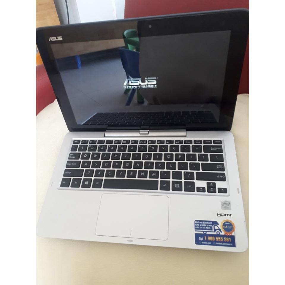"""Đẹp 97%_Laptop 2 trong 1_ASUS Transformer Book T200_Màn hình 11.6"""" cảm ứng tháo rời"""