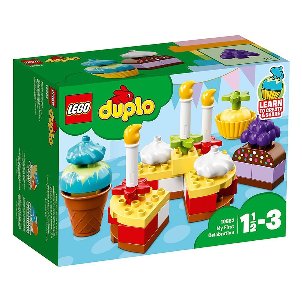 LEGO® DUPLO® Bữa Tiệc Sinh Nhật Đầu Tiên 10862